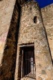 Den historiska gammala västra spanska beskickningen San Jose som grundas i 1720, San Antonio, Texas, USA Royaltyfri Foto