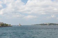 Den historiska halvön av Istanbul, Turkiet Royaltyfria Foton