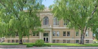 Den historiska Kootenai County domstolsbyggnaden i Coeur d& x27; Alene Idaho Royaltyfri Fotografi