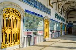 Den historiska mitten av Istanbul. arkivfoton