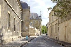 Den historiska mitten av staden av Reims Royaltyfri Fotografi