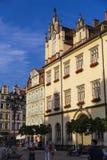 Den historiska mitten av Wroclaw Fotografering för Bildbyråer