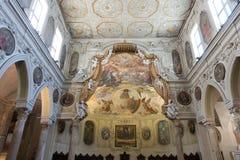 Den historiska San Gennaro för di för domkyrka`-Duomo `en, Arkivfoto