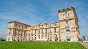 Den historiska slottvillan Pharo av Marseille i södra Frankrike Arkivfoto