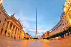 Den historiska spiren av Dublin Royaltyfria Foton
