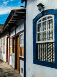 Den historiska staden av Ouro Preto - Minas Gerais - Brasilien Royaltyfri Fotografi