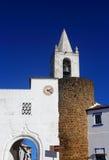 Den historiska staden av Redondo, Alentejo, Portugal Arkivbilder