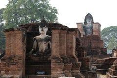 Den historiska Sukhothaien parkerar Fotografering för Bildbyråer