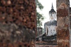 Den historiska Sukhothaien parkerar Arkivfoton
