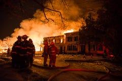 Den historiska Vermont lantgården avfyrar Fotografering för Bildbyråer