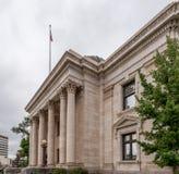 Den historiska Washoe County domstolsbyggnaden i Reno, Nevada Royaltyfri Fotografi