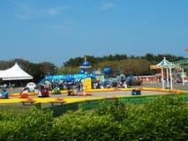Den Hitachi sjösidan parkerar, Ibaraki, Japan Arkivbild