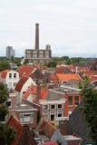 Den holländska staden av Leiden Royaltyfri Bild