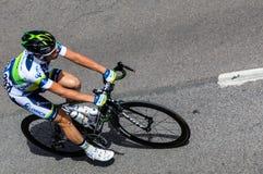 Den holländska cyklisten Langeveld Sebastian Royaltyfria Foton