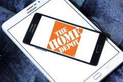 Den Home Depot logoen Arkivfoton
