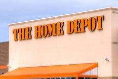 Den Home Depot yttersidan Royaltyfri Fotografi