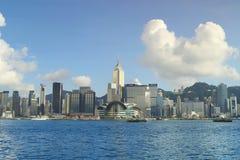 Den Hong Kong victoria hamnen Royaltyfri Foto