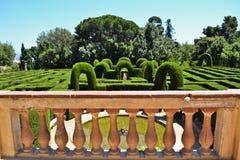 Den Horta labyrinten parkerar Royaltyfri Fotografi