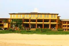 Den hotellLong Beach semesterorten Royaltyfri Fotografi