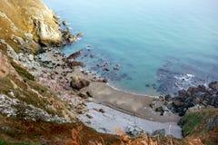 Den Howth klippan går dublin ireland Royaltyfri Foto