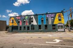 Den hundraårs- OS:en parkerar i Atlanta, Georgia fotografering för bildbyråer
