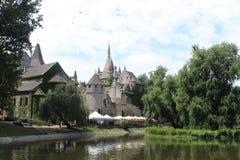 Den Hunyadi slotten Royaltyfri Foto