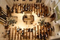 Den Hurva synagogan i Jerusalem Fotografering för Bildbyråer