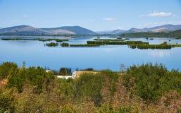 Den Hutovo Blato naturen parkerar nära Mostar i Bosnien och Hercegovina Royaltyfria Bilder