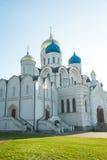 Den huvudsakliga domkyrkan av St. Nicholas Monastery i Moskva Ugresh Arkivbilder