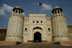 Lahore Fort Royaltyfri Fotografi