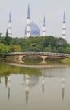 Den huvudsakliga moskén i Shah Alam Royaltyfria Foton