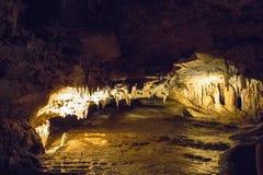 Den hypnotisera naturliga under av Luray Caverns royaltyfri bild