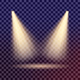 Den idérika begreppsvektoruppsättningen av bristningar för stjärnor för ljus effekt för glöd med mousserar isolerat Royaltyfria Bilder