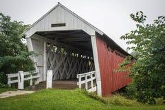 Den Imes bron, St Charles, Madison County, Iowa arkivfoto