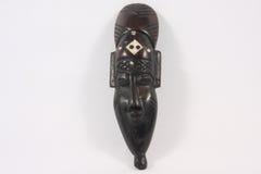 Den indiska maskeringen gjorde ‹för †av trä Arkivbild