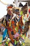 Den infödda powen överraskar South Dakota royaltyfri foto