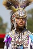 Den infödda powen överraskar South Dakota Arkivfoton