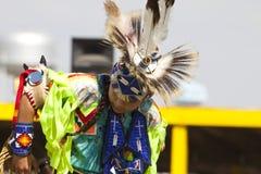 Den infödda powen överraskar South Dakota Arkivbilder