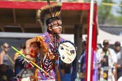 Den infödda powen överraskar South Dakota arkivfoto