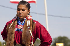 Den infödda powen överraskar South Dakota royaltyfri fotografi