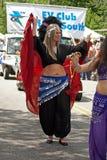 den inman atlanta festivalen ga ståtar parken Royaltyfria Foton