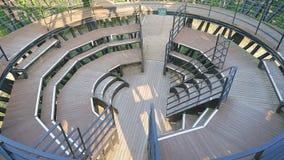 Den inre ställningen för ` för `-fågelredet i Haneul parkerar, en del av världscupen parkerar Royaltyfri Bild