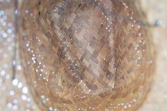 Den inre sugrörhatten se upp pov-skugga på ögonöverkant kopplar av fotografering för bildbyråer