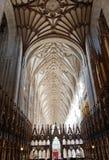 Den inre Winchester för kör domkyrkan, UK Fotografering för Bildbyråer