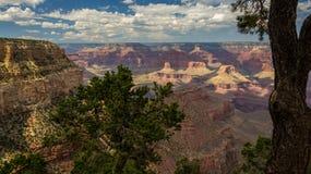 Den inspirerande Grand Canyon av USA Arkivbilder