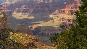 Den inspirerande Grand Canyon av USA Arkivfoto