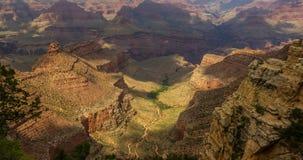 Den inspirerande Grand Canyon av USA Fotografering för Bildbyråer