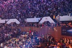 Den Intel ytterligheten styr 2014 royaltyfria foton
