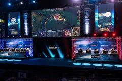 Den Intel ytterligheten styr 2014, Katowice, Polen Royaltyfria Bilder