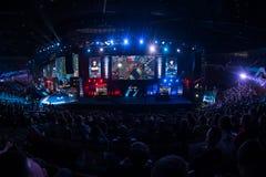 Den Intel ytterligheten styr 2014, Katowice, Polen Arkivfoto